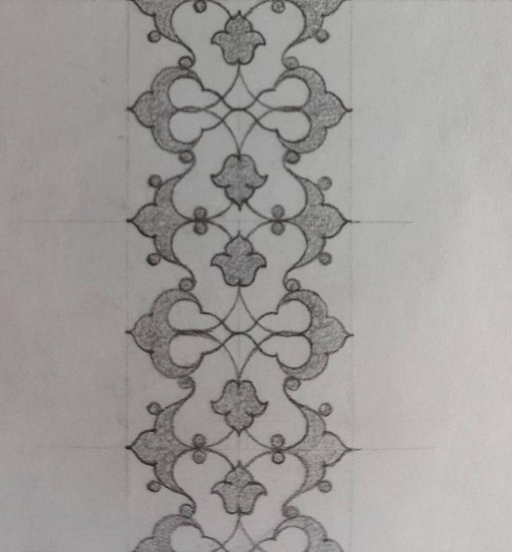 "Müzehhibe#İllumination artist (@fatmaozcay) sur Instagram : ""Rumi eskiz/rumi sketch"""