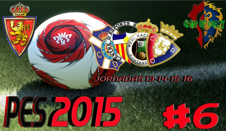 Hola Loc@s!!! Resumen de las jornadas 13-14-15 y 16 de la Liga Adelante.   Jornada 13: Tenerife 1 - 1 Real Zaragoza 16´Vitolo                   39´Borja Bastón  Jornada 14: Real Zaragoza 1 - 1 Sabadell 60´Willian                            21´ Raúl Tamudo  Jornada 15: Real Zaragoza 0 - 1 Racing Santander                             51´Kone  Jornada 16: Osasuna 0 - 1 Real Zaragoza                     23´ Borja Bastón http://youtu.be/l8hD6VrZ-ts
