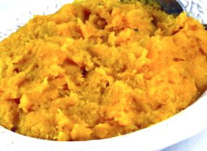Yummy Mashed Butternut Squash with Weight Watchers Points | Skinny Kitchen