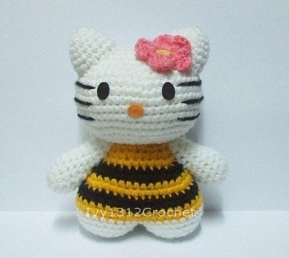 Hello Kitty Hada Amigurumi : 17 Best images about Crochet Hello Kitty on Pinterest ...