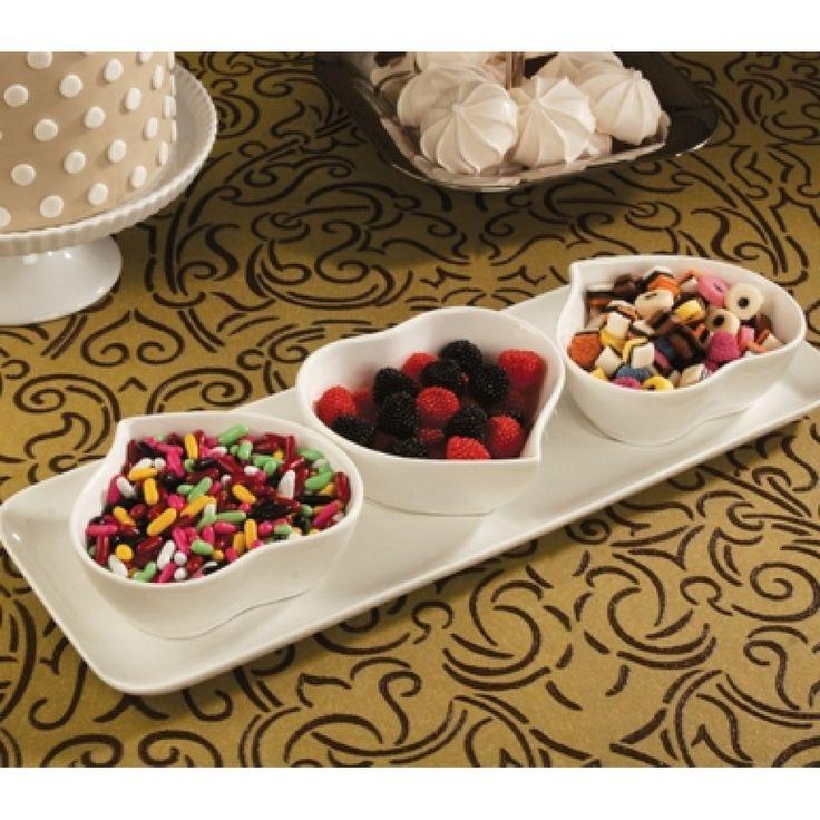 porcelain heart dish bulk pack of 6 489 a91033 buy heart dish set wholesale wedding. Black Bedroom Furniture Sets. Home Design Ideas