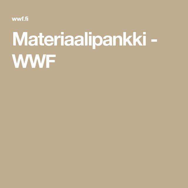 Materiaalipankki - WWF