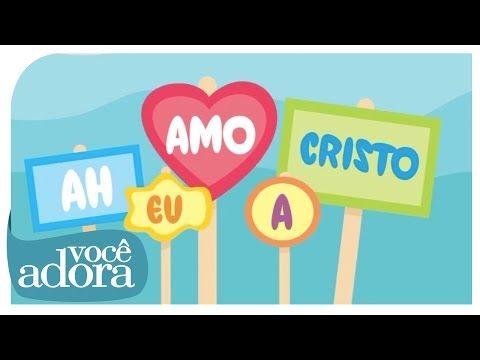 Ah, Eu Amo A Cristo - Jessyca Kids (Video Oficial) [DVD Retrô] - YouTube