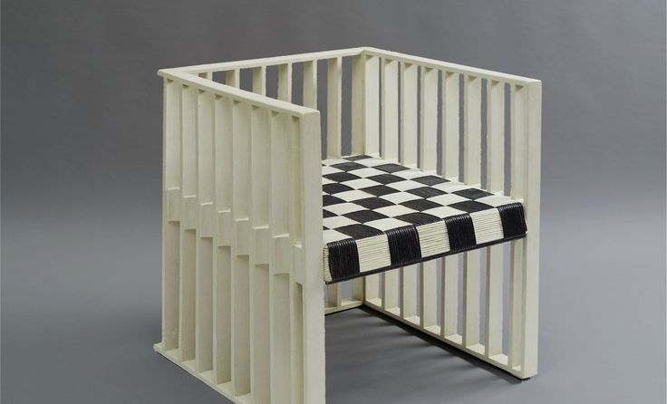 Koloman Moser, Fauteuil Used For The XVlll. Secessions Exhibit And The  Entrance Hall Of