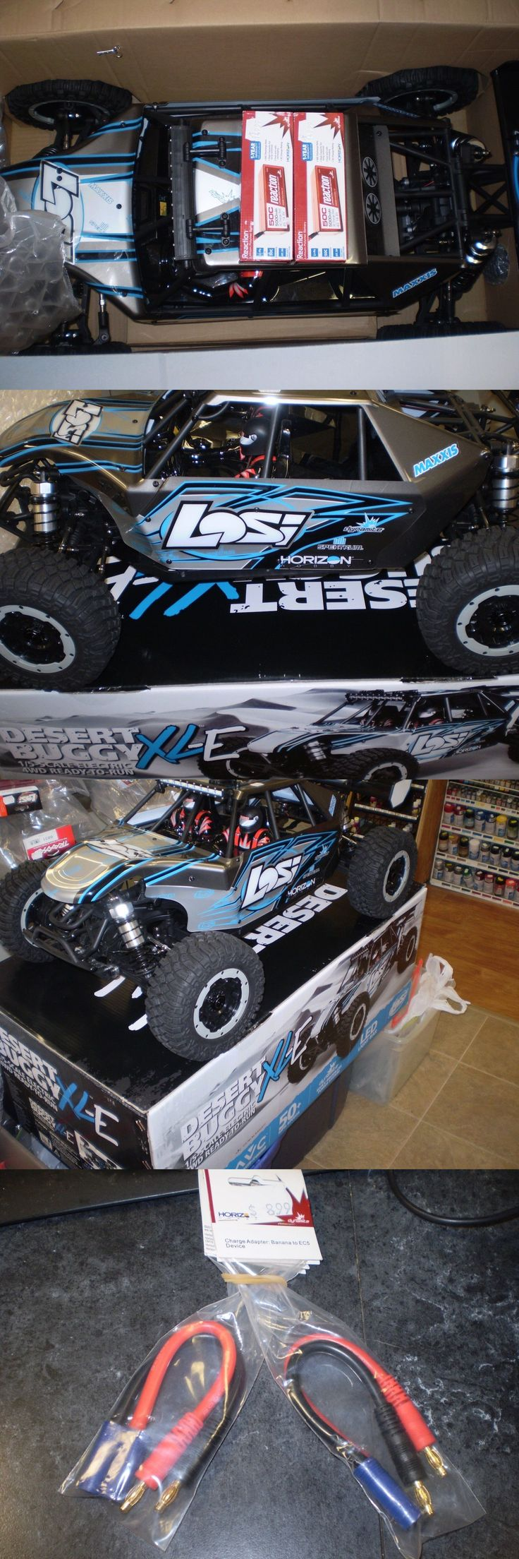 RC Tools and Sets 68407: Team Losi Desert Buggy Xl-E Electric Grey Blue Rtr 2.4 Avc 1 5 4Wd W 2 Lipo S -> BUY IT NOW ONLY: $1350 on eBay!