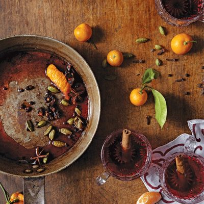 To make this winter: Citrusy Mulled Wine