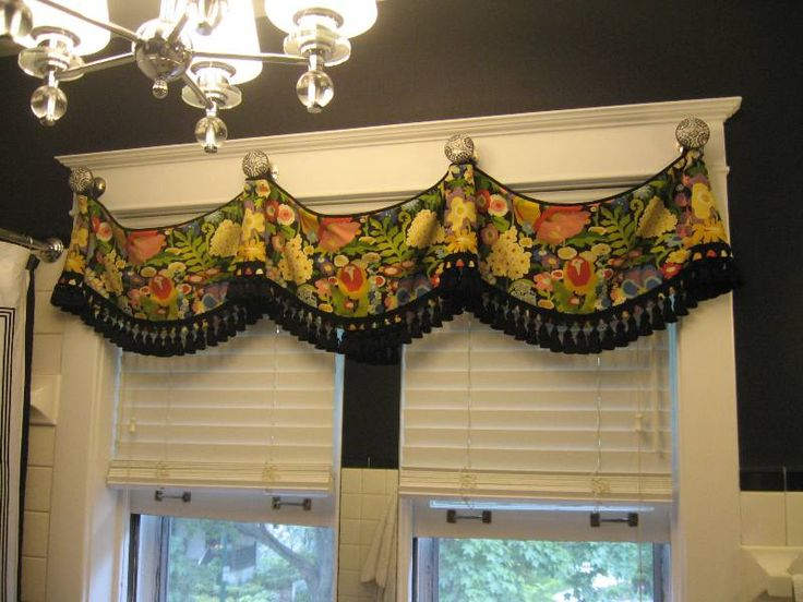 255 Best Valances Images On Pinterest Sheet Curtains