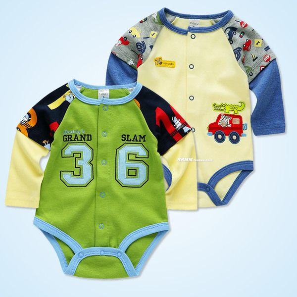 Детские треугольник Romper 0-1 лет новорожденные сиамские одежды до открытия ребенка с длинными рукавами восхождение одежды весной и осенью и зимой одежда мешок пердит