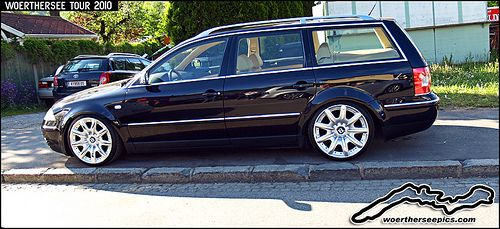 VW Passat Wagon on Bentley wheels at the Wörthersee Tour 2… | Flickr