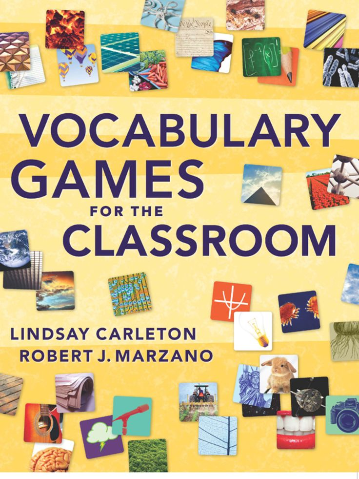 Vocabulary Games for the Classroom (eBook)