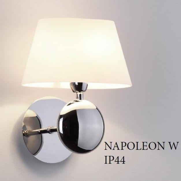 Aplica de perete, IP44, Napoleon alb W0121 MX, Aplice de perete moderne, Corpuri de iluminat, lustre, aplice, veioze, lampadare, plafoniere. Mobilier si decoratiuni, oglinzi, scaune, fotolii. Oferte speciale iluminat interior si exterior. Livram in toata tara.  a