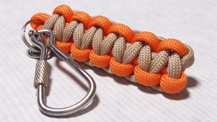 Next short video about keychains. This time you will be able to learn how to create Cobra Weave one. Amount of the cord depends on how long keychain you want...
