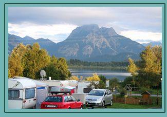 Campingplatz Guggemos, near Füssen, Bayern, Germany