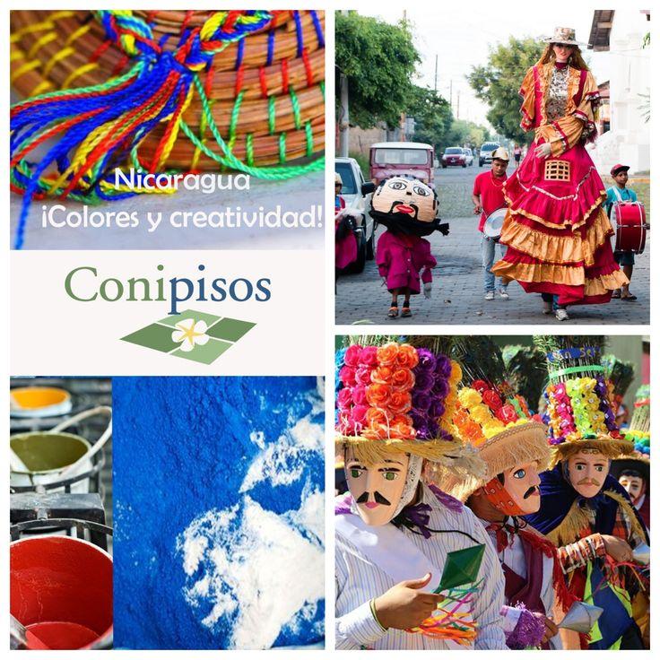 Colores -  tradiciones - mosaicos - pisos - decor  -nicaragua