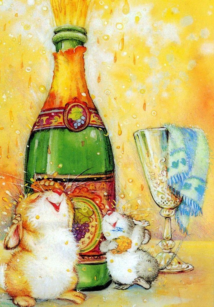 Красивые поздравительные открытки художнице