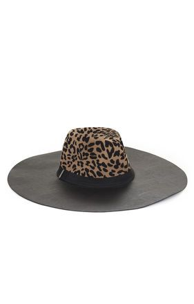 Leopard Printed Floppy Hat...covet