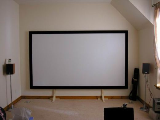 Build a Projection Screen for under $100