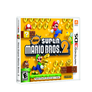 The Mushroom Kingdom is bursting with more gold coins than ever before in New Super Mario Bros. 2. 1 will win this Nintendo 3DS game up for grabs. Enter by 12/24/12 at 11:59 pm EST to win.