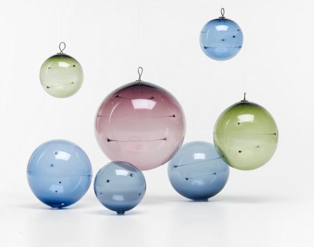 finnish glass orbs