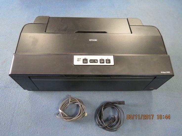EPSON Artisan 1430 Black Inkjet Digital Photo Printer #EPSON