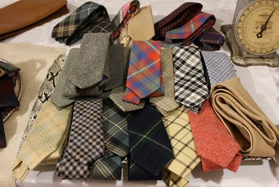 ties... A man's scarf.  I need as many ties and you need scarfs!