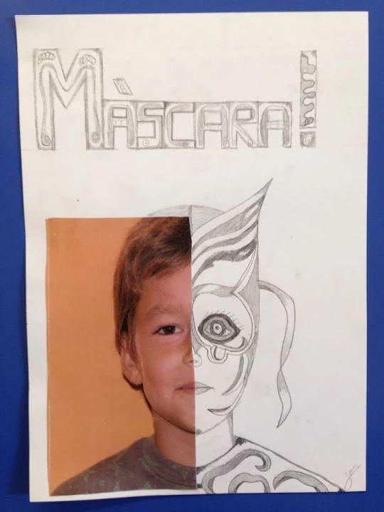 CARNESTOLTES - Material: paper, llapis, fotografía, tisores, cola - Nivell: CS 5PRIM 2015/16 Escola Pia Balmes