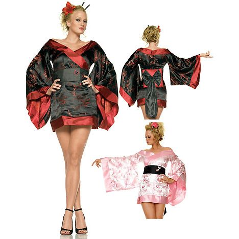 geisha Costumes, Kimono Costumes,sexy geisha costume, sexy geisha ...