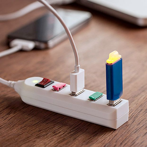 USB Power Strip at werd.comUsb Gadgets, Ideas, Stuff, Usb Plugs, Usb Power, Power Strips, Things, Tech, Products