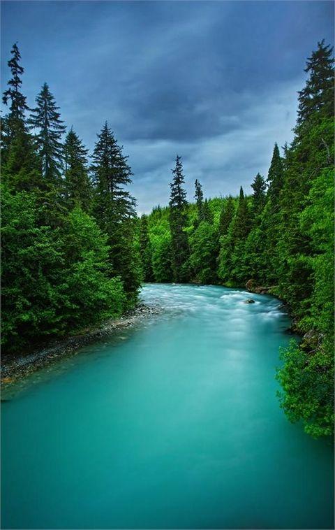 Big Wedeene River - Canada   Top 20 Beautiful Nature & Places In Canada.