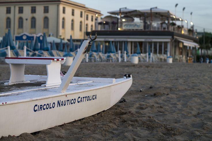 Pattino di salvataggio, Cattolica, Emilia Romagna.