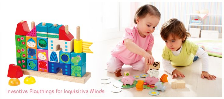 Games, furniture and accessories with special attention to detail making each and every one of the 2000 HABA products unique!