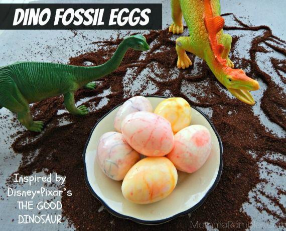 Dino Fossil Eggs as Inspired by Disney•Pixar's THE GOOD DINOSAUR ~ #GoodDino #GoodDinoEvent