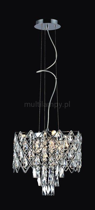 Italux Kate lampa wisząca 6-punktowa MD112815-6B - Multilampy.pl