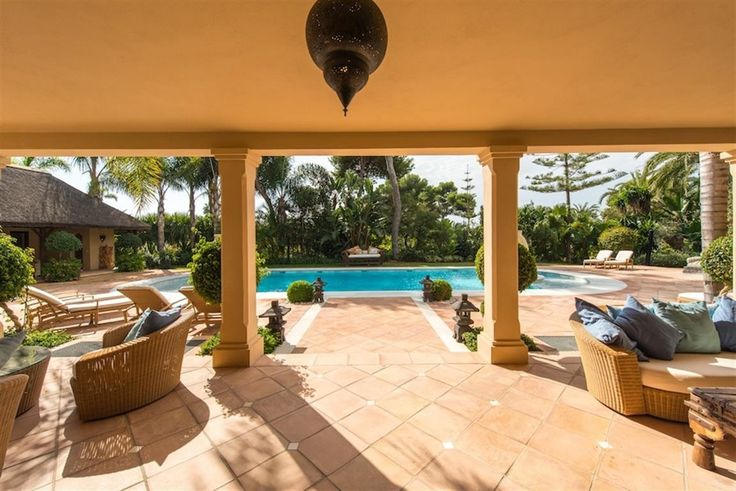 Luxury Villa for Sale in Los Monteros Playa, Marbella, Spain. CLICK ON IMAGE FOR INFO & PRICE.