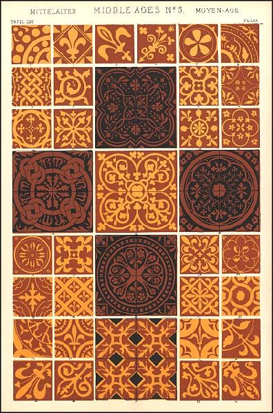 medieval tile patterns - Google Search