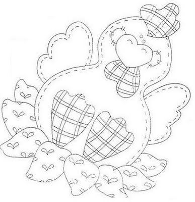 CRIS ARTE: RISCOS COUNTRY   I think this would be cute on a potholder