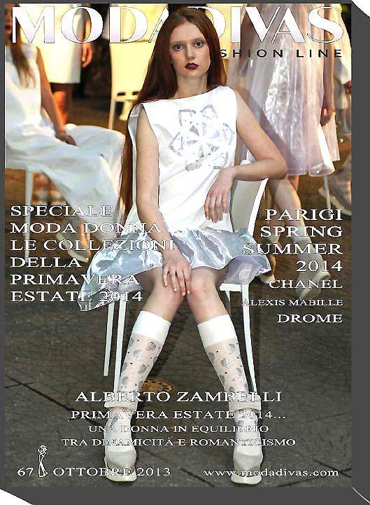 October 2013 Cover: Alberto Zambelli Spring Summer 3014