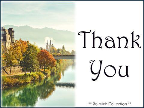Salmiah Collection: Thank You Card 27