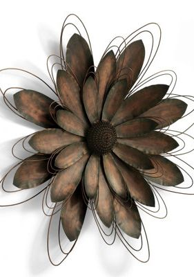 Metal Flower Artwork.