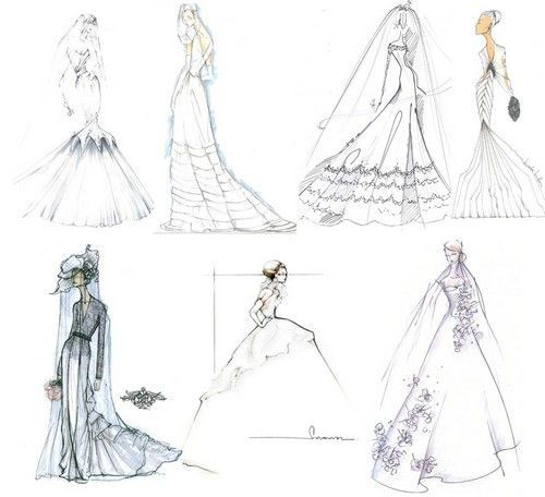 Disegnare abiti da sposa on line