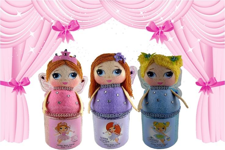 mmmm....delicious 'fairy floss'honey sparkle' & 'blueberry' bath caviar