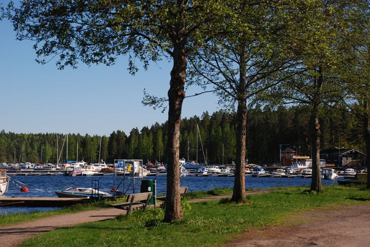 #Imatra, #Finland, port of Imatra, Imatran satama by Maija S.