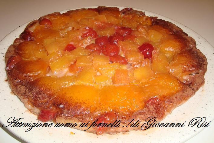 Tarte Tatin albicocche ananas ..Nuovo post .. :)
