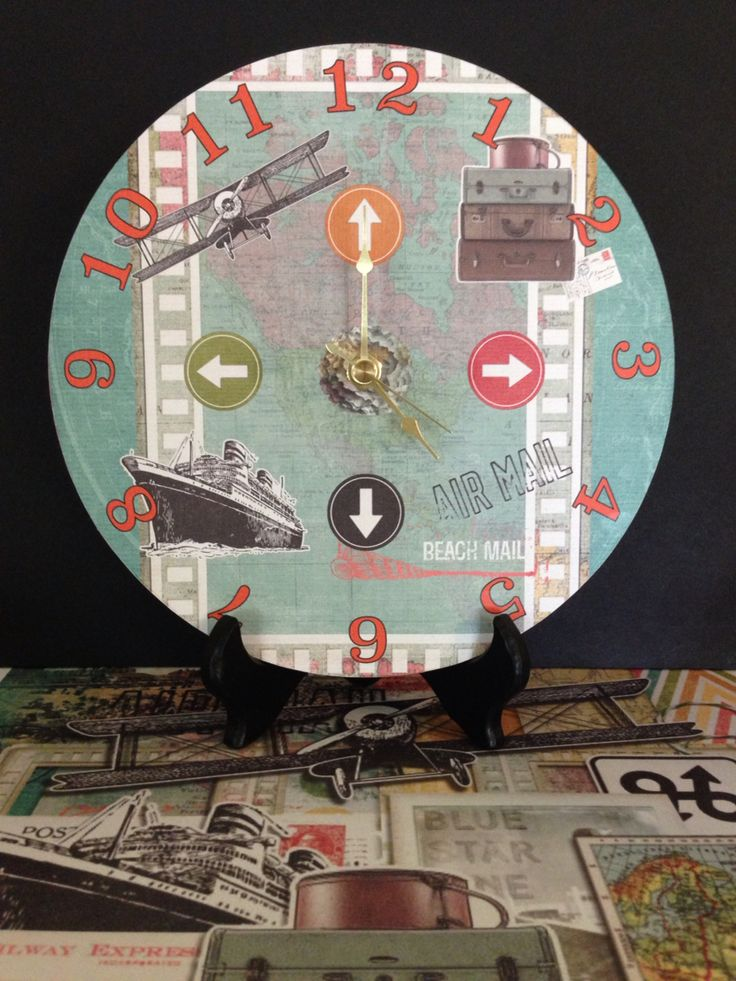 Check out my beautiful clock I created for the Hybrid Chick blog: http://www.thehybridchick.com/2015/07/time-for-some-time/