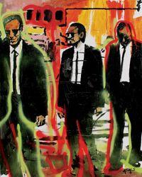 Men in suits (ART ID# 7638) by Koos De Wet