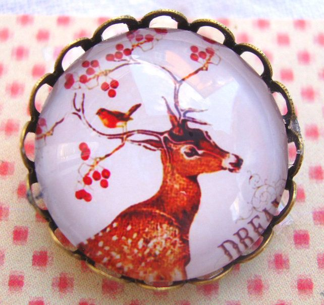 Deer Brooch. £6.00