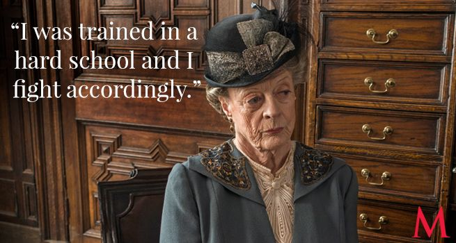Downton Abbey Season 6 Episode 5 .. Maggie Smith ..Never complain, never explain.. ..