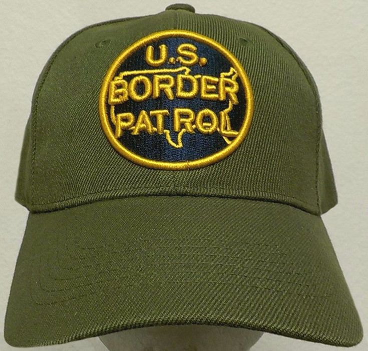 NEW ROUND CLASSIC U.S. CUSTOMS & BORDER PATROL PROTECTION AGENT BPA CBP CAP HAT #HIGHPREMIUMHEADWEAR