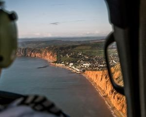 Exeter City Helicopter Sightseeing Tour Discover Exeters ancient Roman city from the air during this spectacular 25-mile helicopter journey, seeing some of its most iconic architecture! Helicopter tours are experiences everyone should try a http://www.MightGet.com/january-2017-11/exeter-city-helicopter-sightseeing-tour.asp