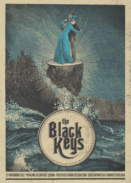 The Black Keys - Pavilhao Atlantico, Lisboa - Error Design